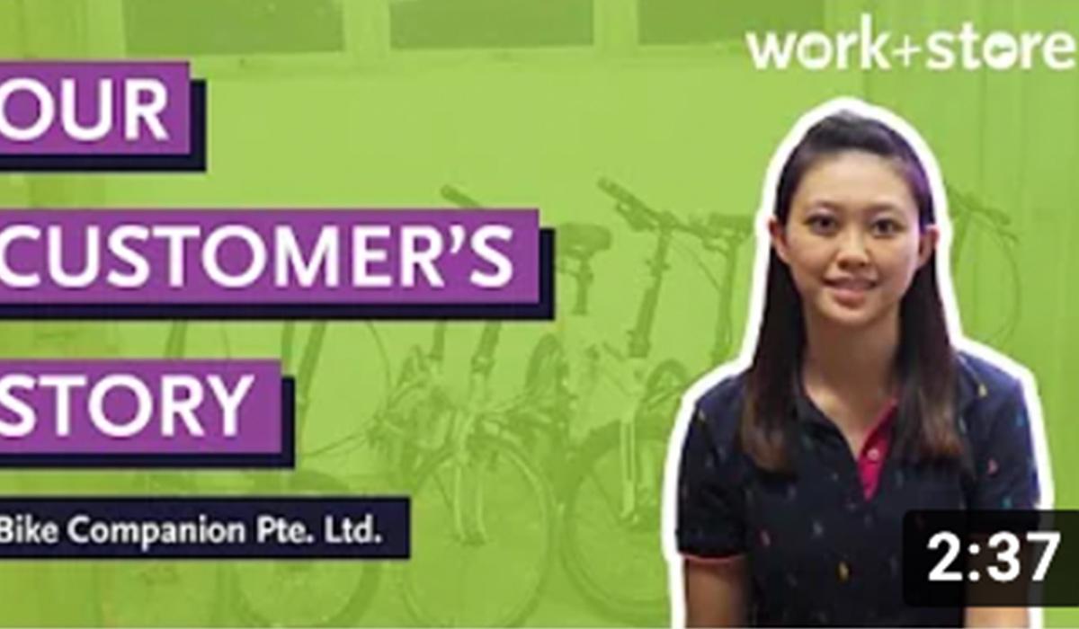 #WhereYouStoreMatters – Work+Store x Bike Companion Pte. Ltd.