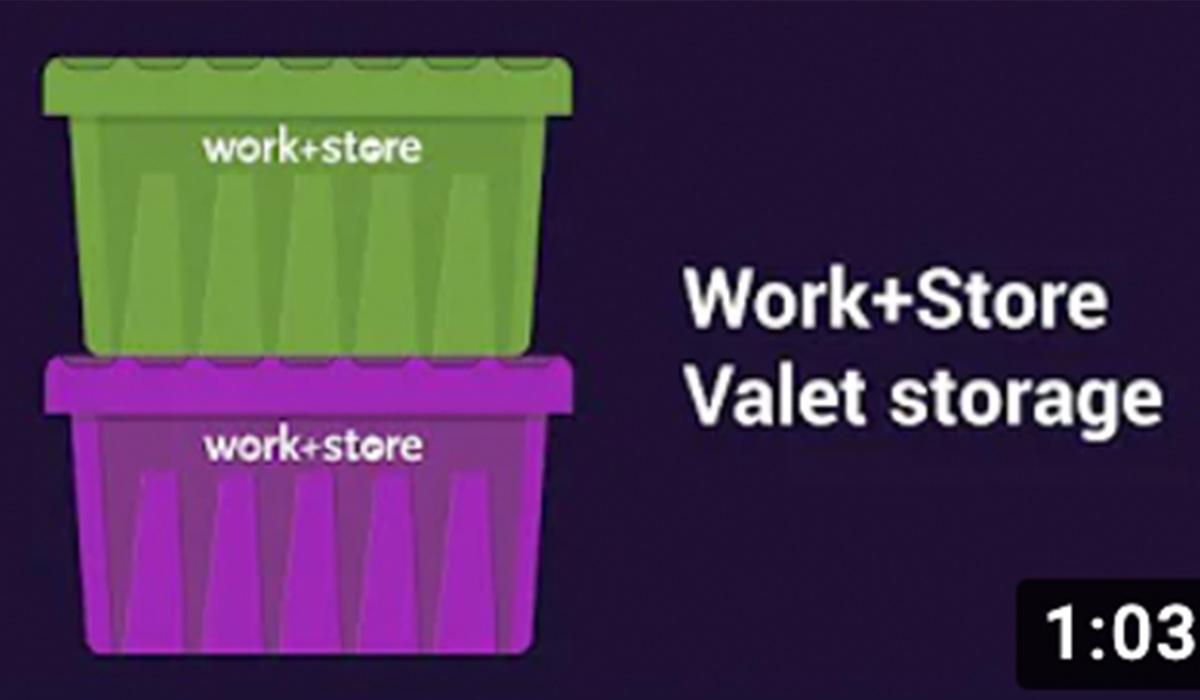 Work+Store Valet Storage Service