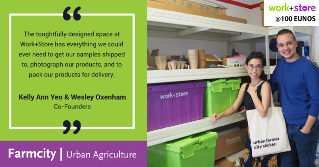 How Work+Store's Storage Unit Helped Farmcity Store Their Grow Kits & Run Their Business Smoothly